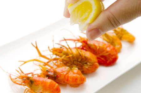 fried shrimp Stock Photo - 13279578