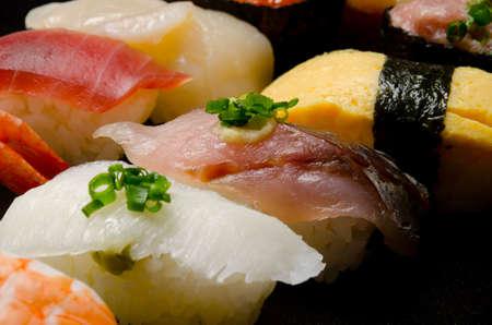 assort: sushi Stock Photo