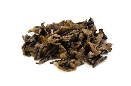 cloud ear fungus: black fungus Stock Photo