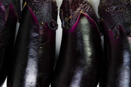 garden truck: eggplant