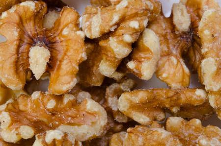 noix: walnut  Stock Photo