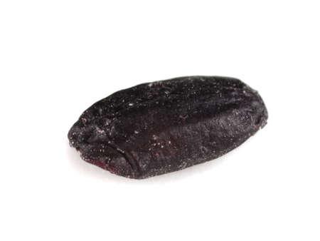 black rice: black rice Stock Photo