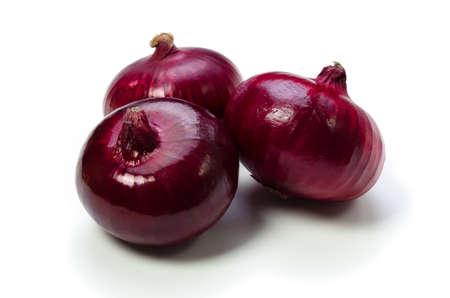 garden truck: red onion
