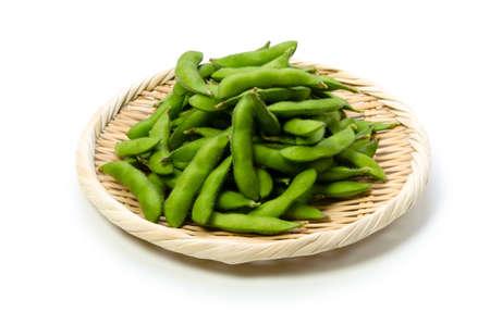 soja: verde di soia Archivio Fotografico