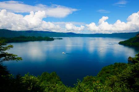 Lake Towada, Towada Hachimantai National Park, Japan.