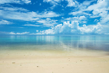 Calm ARAGUSUKU Beach, Okinawa Prefecture Japan