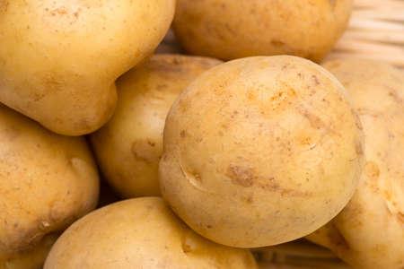 tuberosum: Potato-Solanum tuberosum Stock Photo