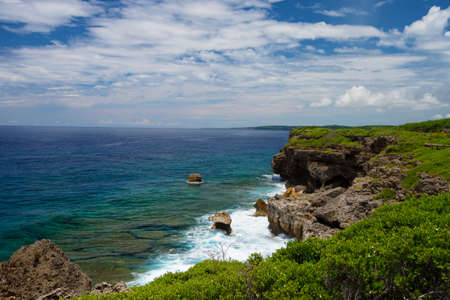 The View of East China Sea from HIGASHI HENNA Cape, Okinawa PrefectureJapan, 2013617.