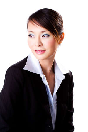 business woman with a confident beautiful smile Stock Photo - 2318634