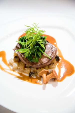 marinated: marinated vege meal Stock Photo