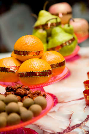 fruits for traditional chinese praying