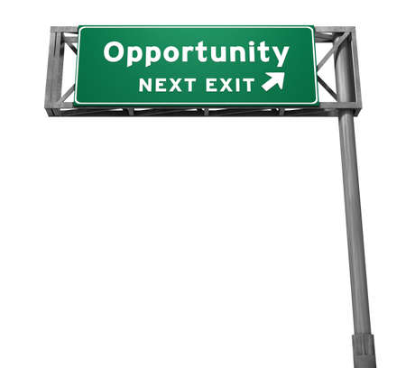 Opportunity Freeway Exit Sign