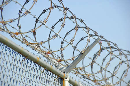 Razor Wire 2 Stock Photo - 552300