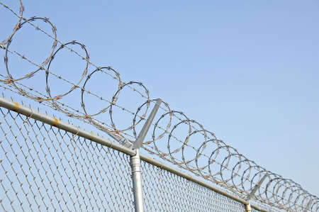 Security Fence 2 Stock Photo - 552294
