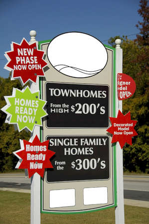 Realty Sign Stock Photo - 585454