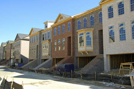 Townhome Stock Photo - 597507