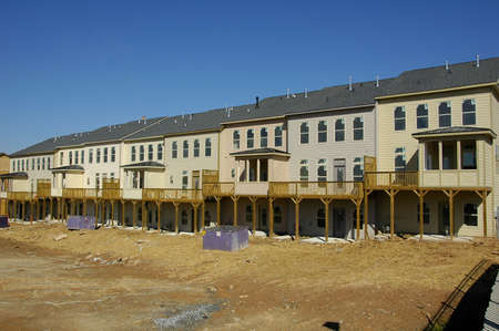 Townhome Construction 2 Stock Photo - 597506