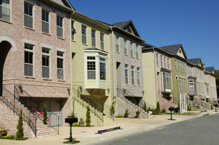 Townhomes Stock Photo - 597505