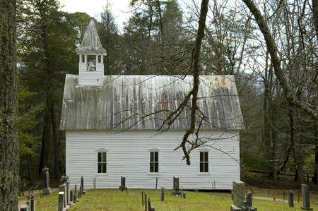 country church: Cades Cove - Methodist Church