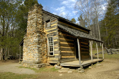 Cades Cove - John Oliver Cabin photo
