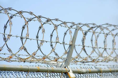 Security Fence Stock Photo - 705467
