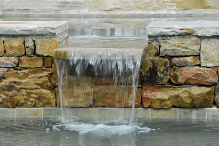 SPA Water Feature Stock Photo - 715644