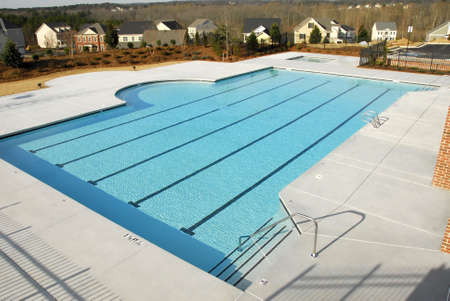 Country Club Swimming Pool Imagens