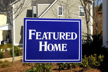 featured: Featured Home Stock Photo
