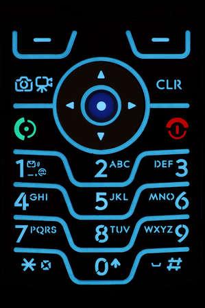 Cell Phone Keypad 版權商用圖片