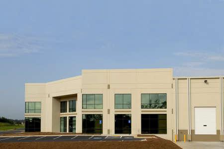 Nieuwe commerciële centrum Stockfoto