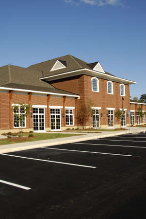 New commercial building with retail, medical and office space available for lease