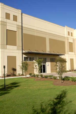 The Front Facade of New Commercial Building
