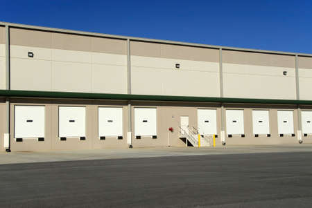 A new commercial warehouse for lease