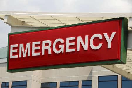 Meld u over een Emergency Hospital Emergency Room Entree