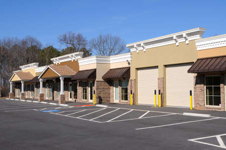 New Commercial Building with Office and Retail Space
