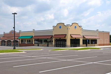 Bewaren Fronten in een New Shopping Center
