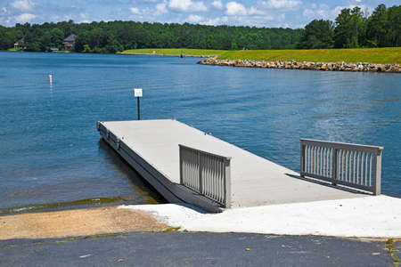 New Boat Launch Ramp on a Private Recreational Lake