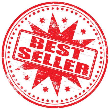 best seller: BESTEN Verk�ufer-Stempel Illustration