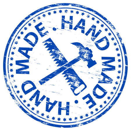 hand made: HAND MADE Rubber Stamp