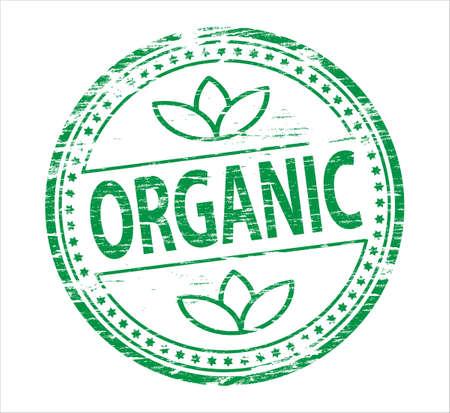 org�nico: Sello org�nico Vectores