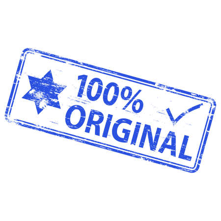 100% ORIGINAL Rubber Stamp Stock Vector - 8898162