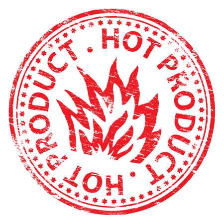best seller: RED HOT PRODUCT Rubber Stamp