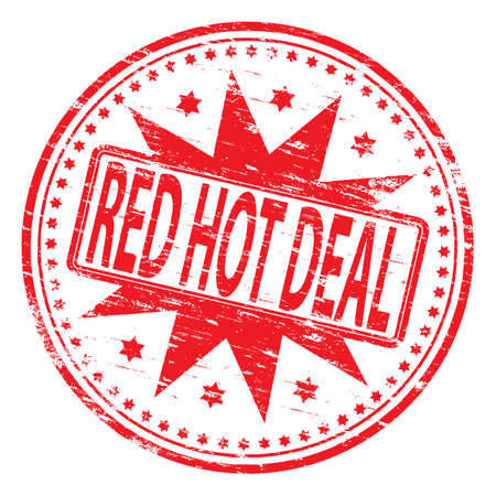best products: RED HOT DEAL Rubber Stamp