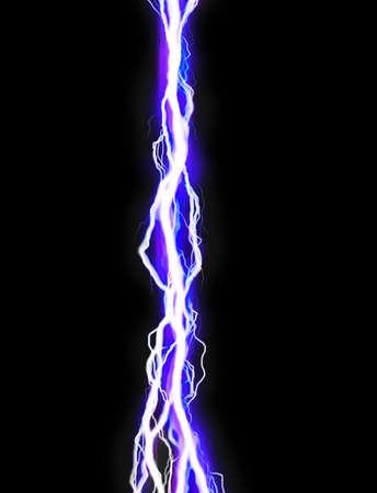 rayo electrico: Chispa de alta energ�a Foto de archivo