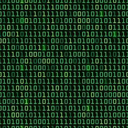 code computer: C�digo inform�tico binario repetici�n del fondo del vector