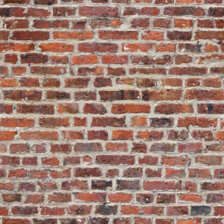 tileable: Repeating, tileable rustic brick wall wallpaper background  Continuous pattern left, right, up and down Stock Photo