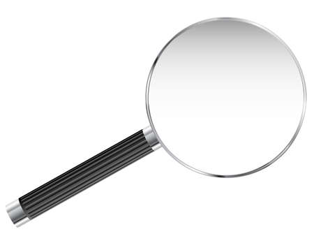enlarged: Magnifying glass