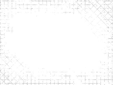 grimy: Grungy industrial texture on white background. Vector illustration Illustration