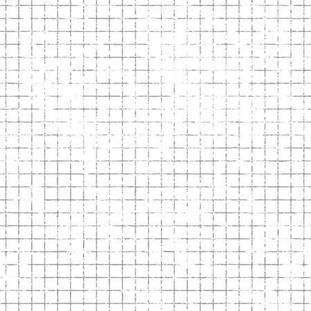 Répétition grunge carré maille fond. Vector wallpaper Tileable qui se répète à gauche, à droite, de haut en bas