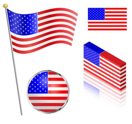 17,282 Flag Pole Stock Vector Illustration And Royalty Free Flag ...